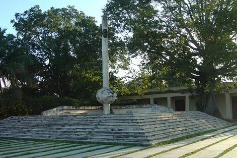 Park of the Constitution, in Gu�imaro. Near this place Ana delivered her historical speech. Foto: L�zaro David Najarro Pujol